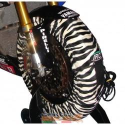 IRC Animal Zebra Tyrewarmers