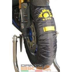 Tyrewarmers  RISE  XL-XXL (190/200) Black Colour