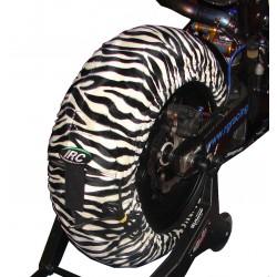 Tyrewarmers Animal IRC Zebra