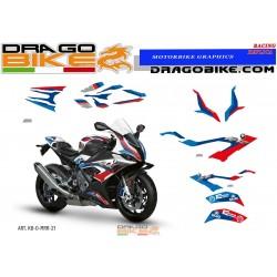 Kit Stickers Grafica Original replica BMW M 1000RR 2021